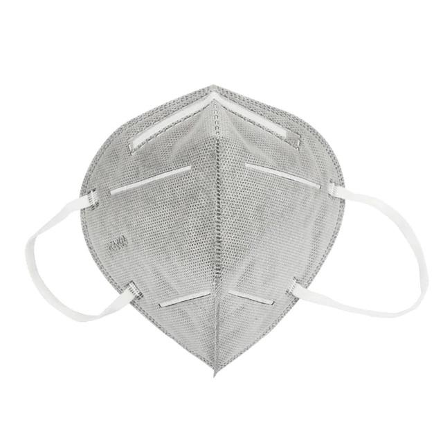 Respirační rouška Sunway respirátor FFP2 / KN95 bez vydechového ventilu Barva: Šedá