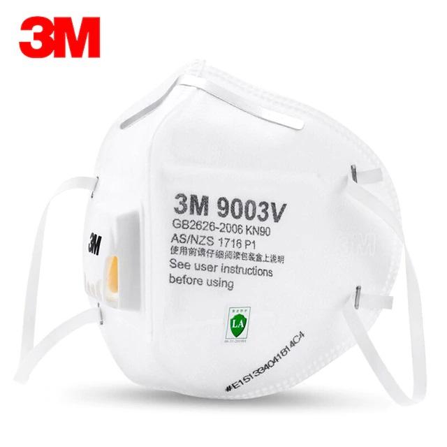 3M 9003V dětský respirátor KN90 s výdechovým ventilem
