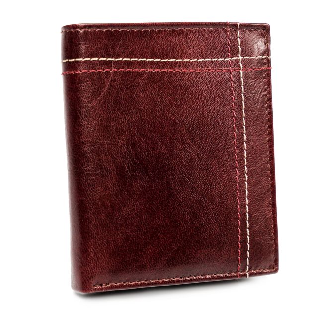 Pánská kožená peněženka Always Wild® Barva: Bordová