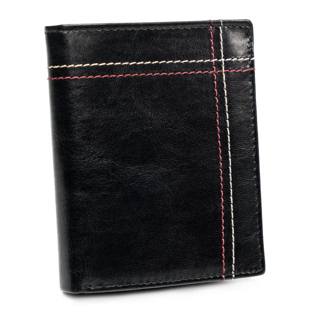 Pánská kožená peněženka Always Wild® Barva: Černá