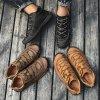 Pánske kotníkové zimní boty s tkaničkami (6)