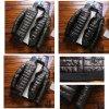 Voděodolná bunda bez kapuce prošívaná bunda s podšívkou (8)