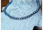 Jednořadé perlové náhrdelníky