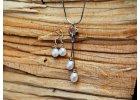 Přívěšek 2 perly