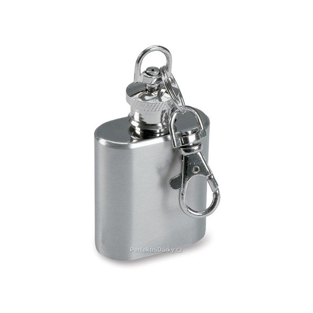 Miniaturní butylka jako přívěsek