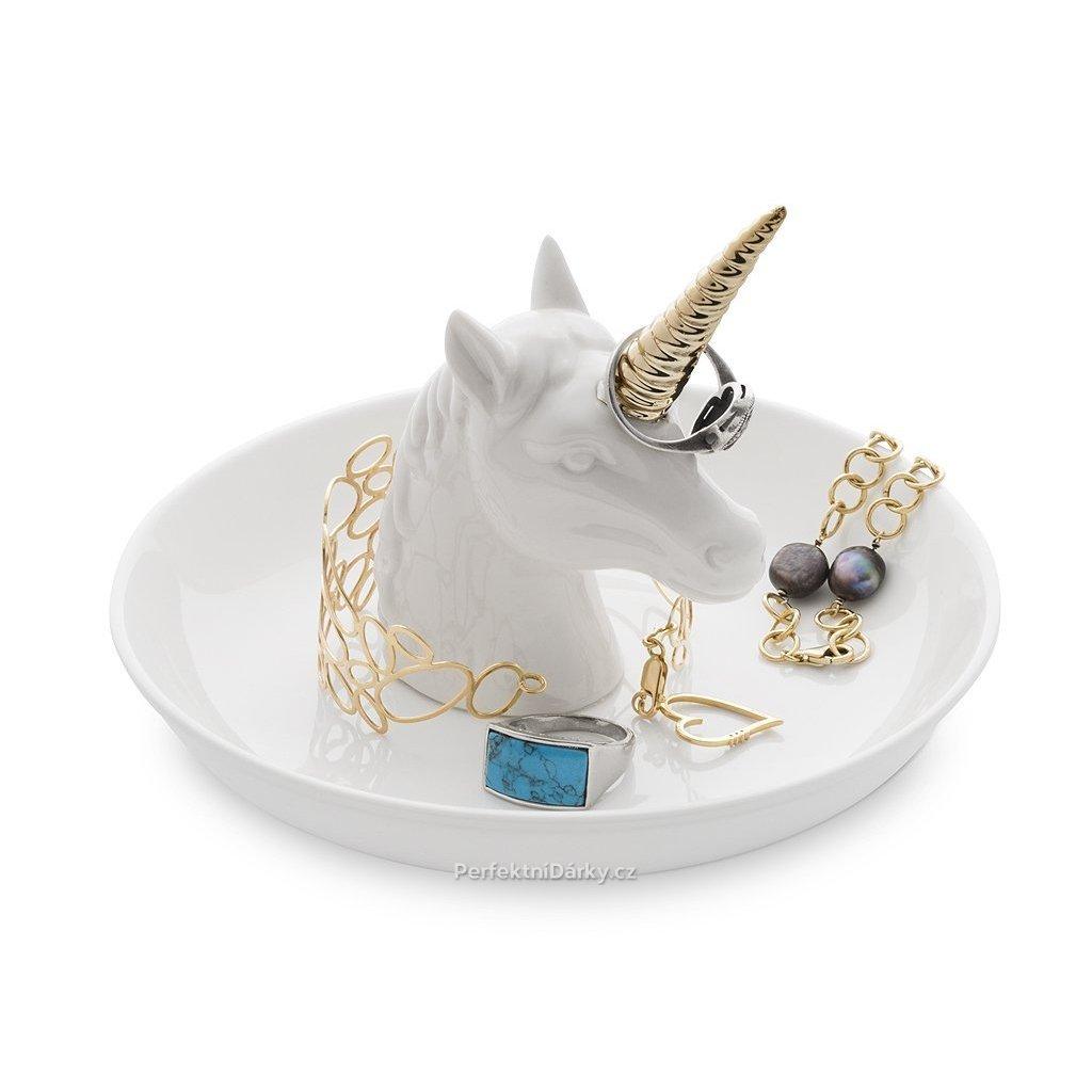Odkladač na šperky - jednorožec