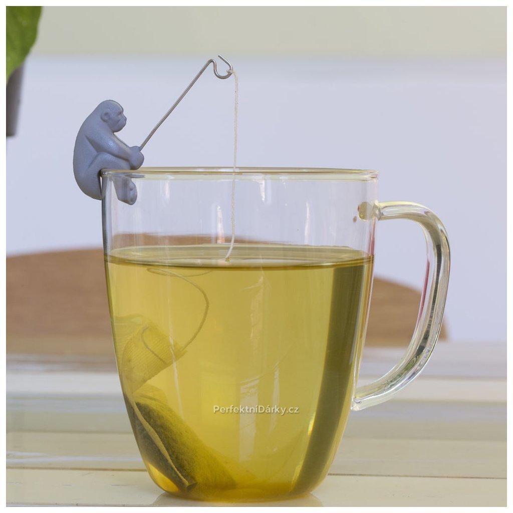 Opičky na čajový sáček - 4ks