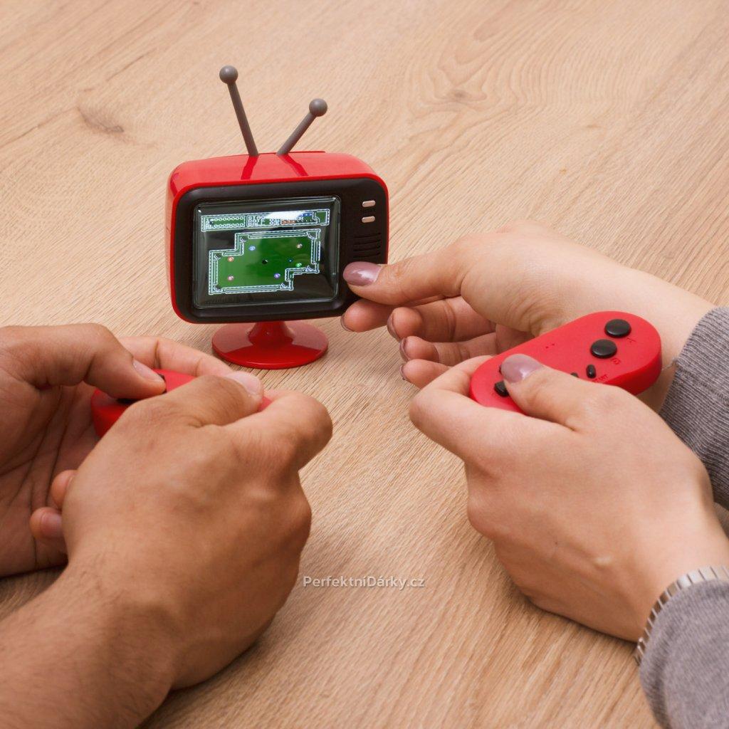 Mini TV - 300 her - až pro dva hráče