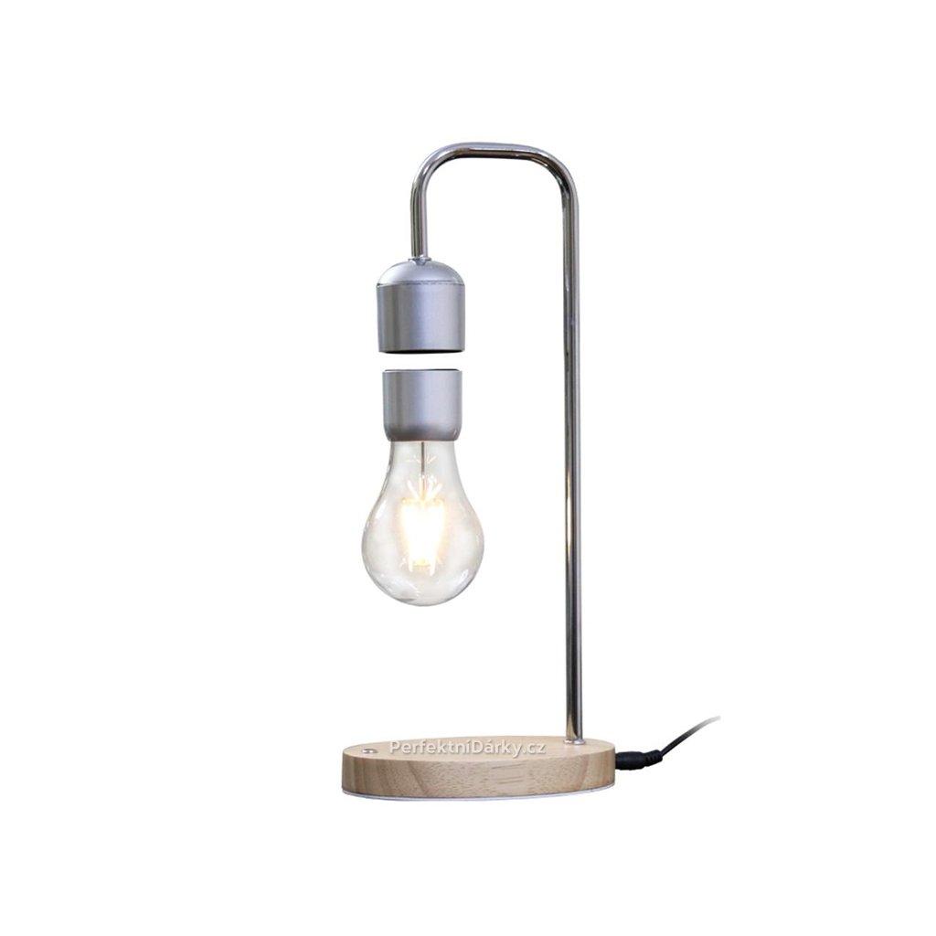 Levitující stolní lampa