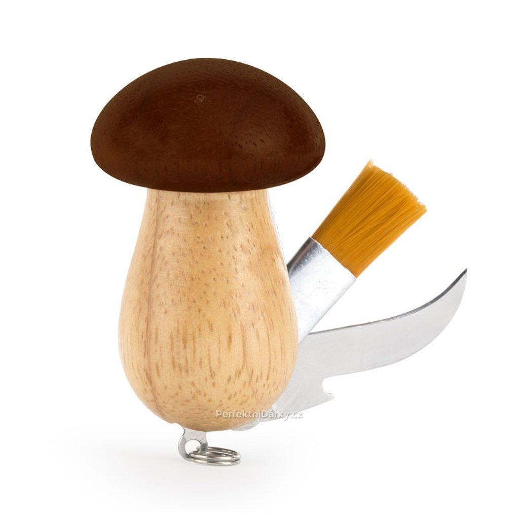 Nůž pro houbaře - hříbek
