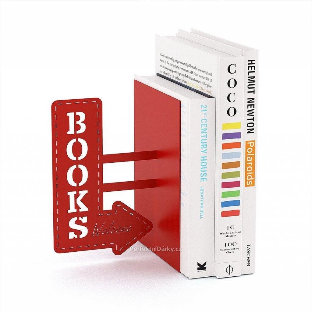 Knižní zarážka BOOKS