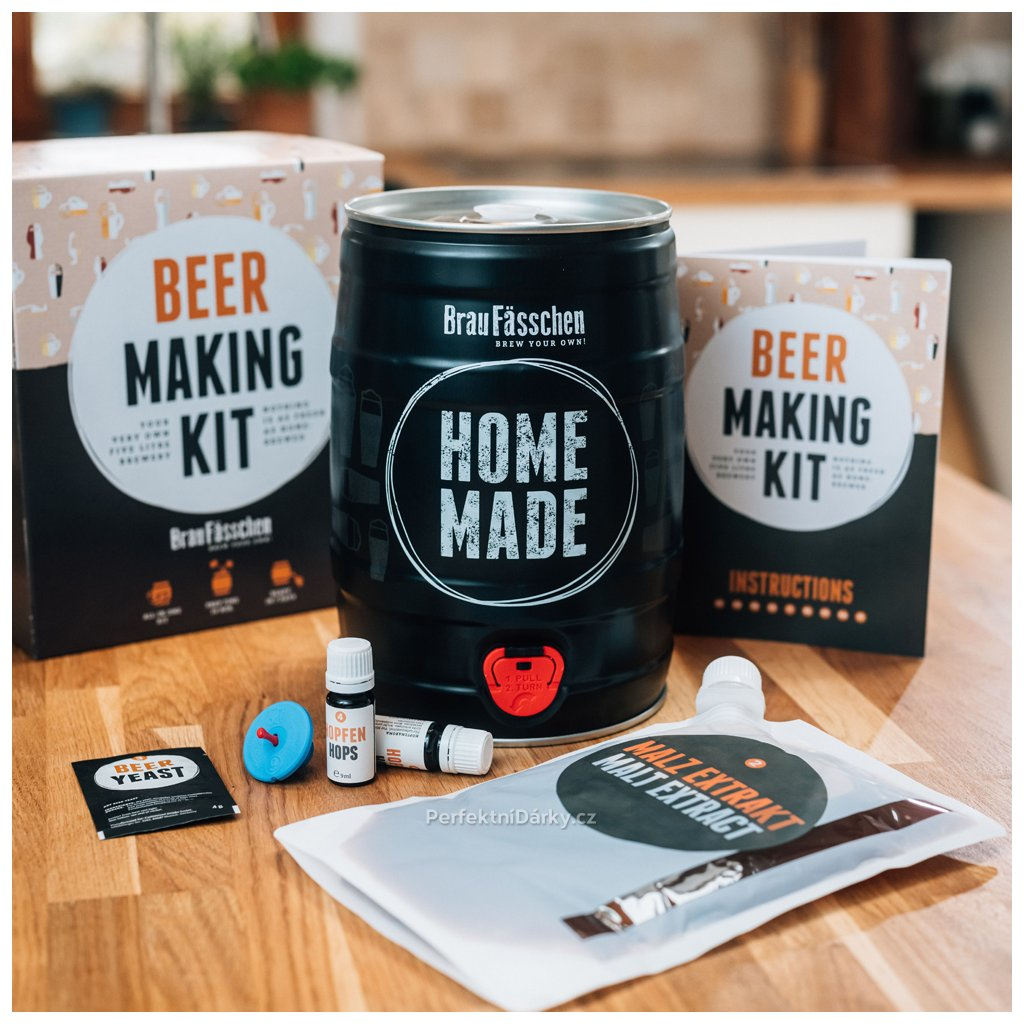 Domácí pivovar v dárkovém balení - plzeňské pivo
