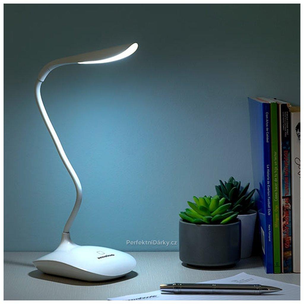 Dotyková a dobíjecí lampa Lum2Go