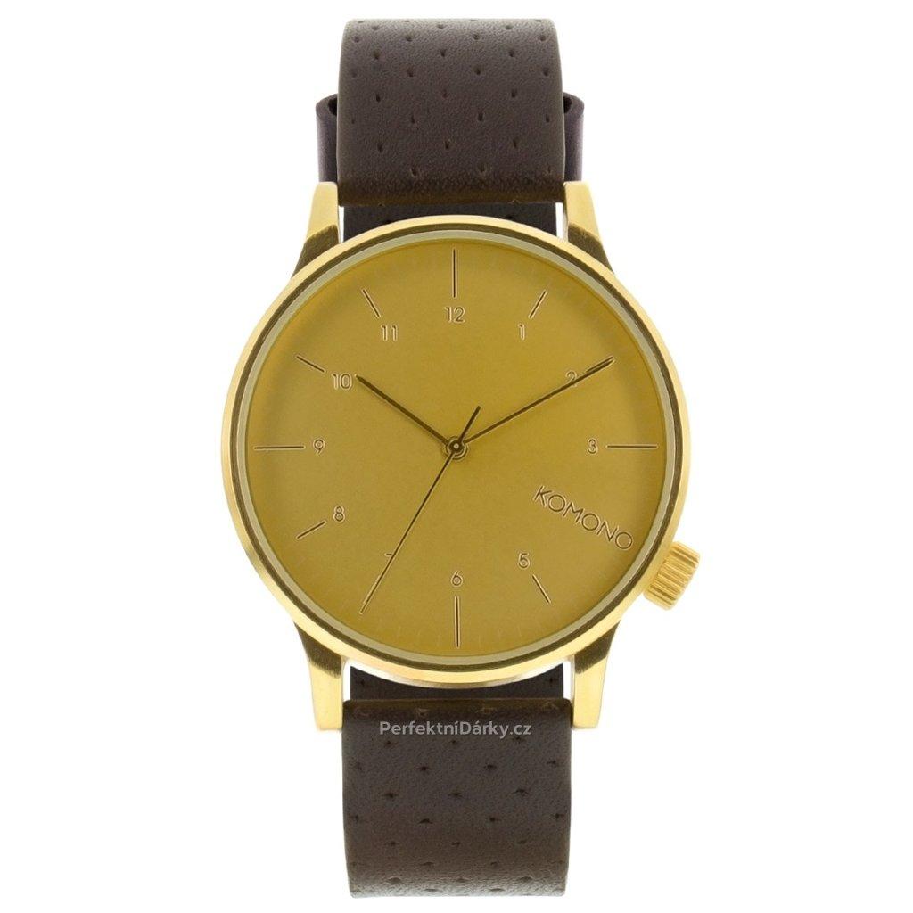 5607 panske hodinky komono kom w2001 41 mm
