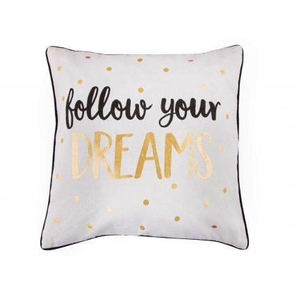 Polštář s potiskem - Dreams