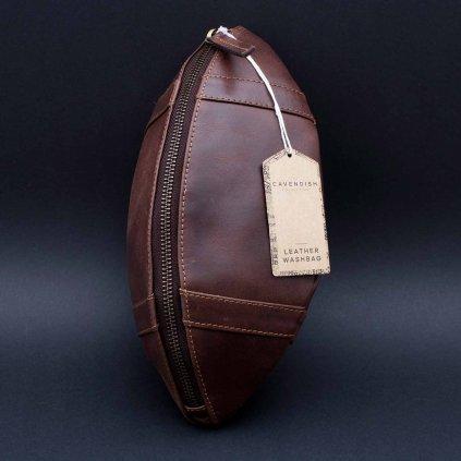 Retro toaletní taška - míč na americký fotbal