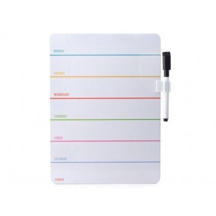 Magnetická tabule na úkoly