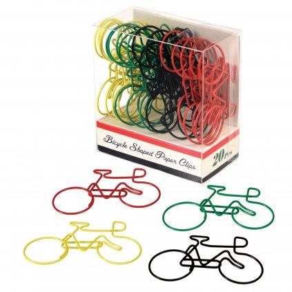 Kancelářské sponky - cyklisté