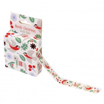 Okrasná páska  - Nordic Christmas