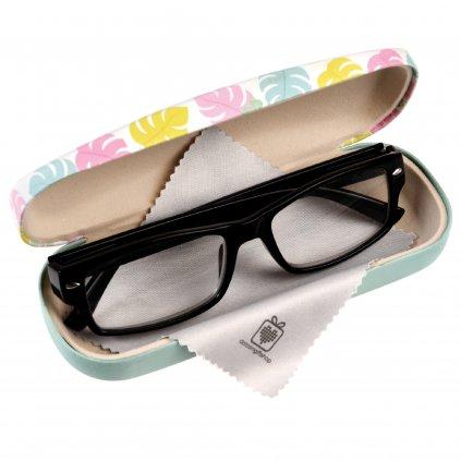 Pouzdro na brýle - plameňáci