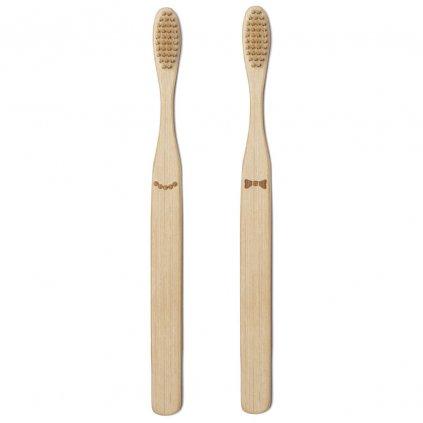 Její a jeho bambusový kartáček