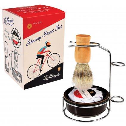 Štětka na holení se stojánkem - cyklisté