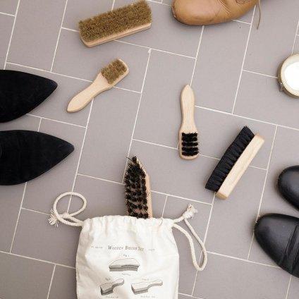 Sada kartáčů na boty