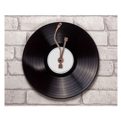 Nástěnné hodiny - vinyl