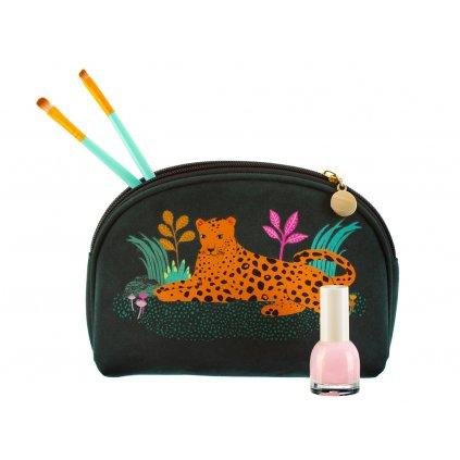 Kosmetická taška - leopard