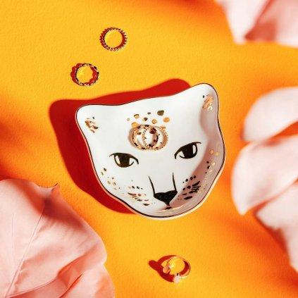 Odkladač na šperky - leopard