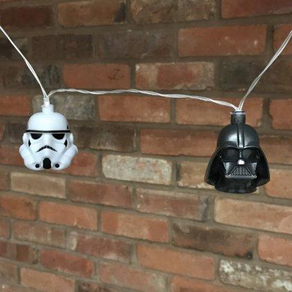 Světelný řetěz - Darth Vader & Stormtrooper