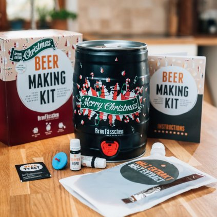 Domácí pivovar v dárkovém balení - vánoční pivo
