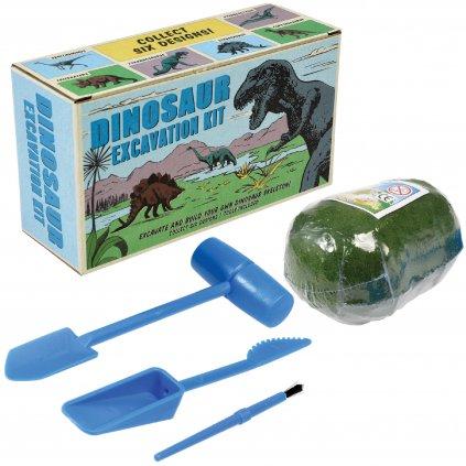 Vykopej si kostru dinosaura