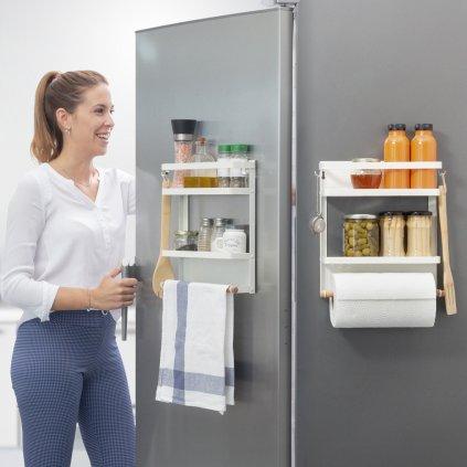 Magnetická polička - organizér do kuchyně či koupelny