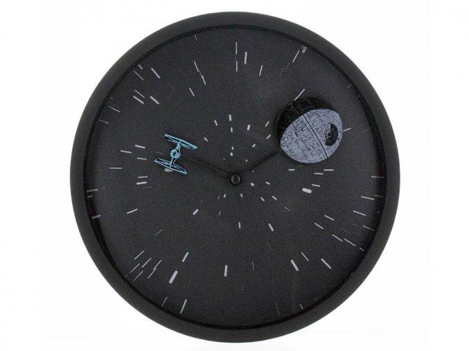 Star Wars - holografické 3D hodiny