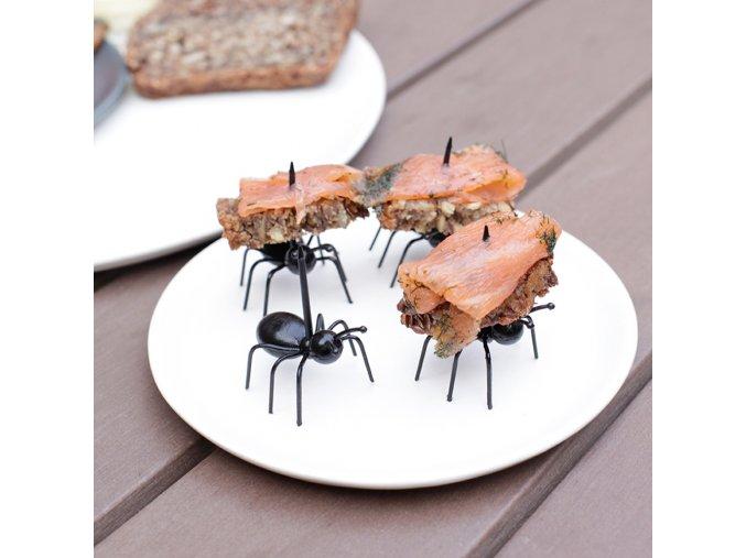 Napichovátka na jednohubky - mravenci