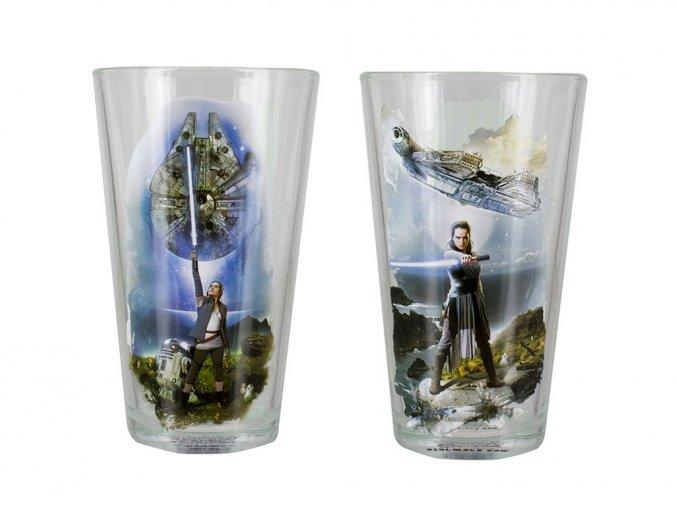 The Last Jedi sklenička