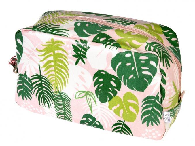 Toaletní taška - listy