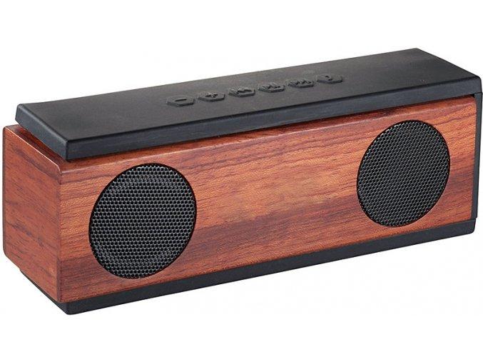 Luxusní Bluetooth reproduktor ze dřeva