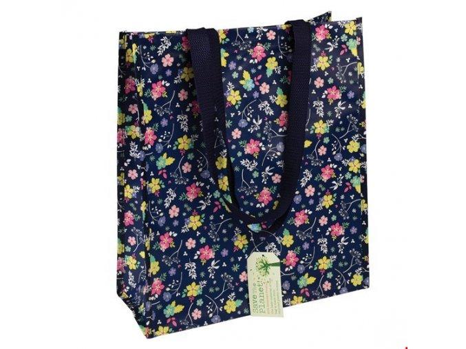 Nákupní taška - rozkvetlá zahrada