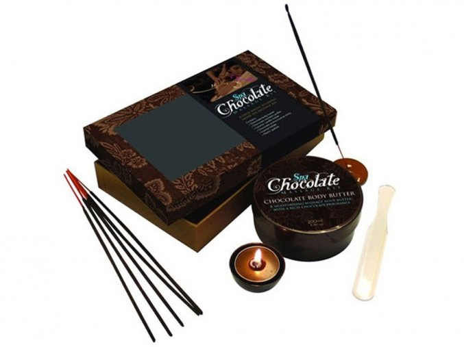 Sada na čokoládovou masáž