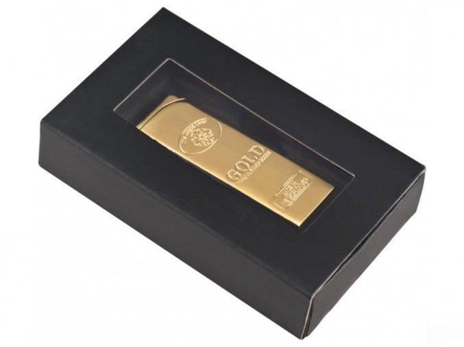 Zapalovač - zlatá cihla