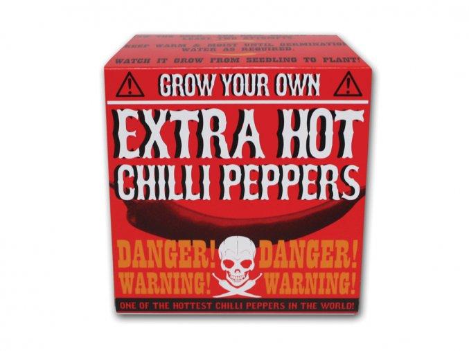Vypěstuj si extra pálivé Chilli
