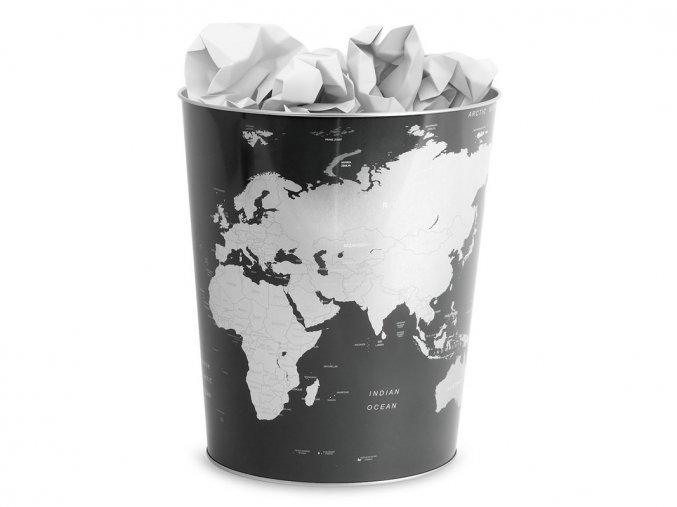 Odpadkový koš - svět