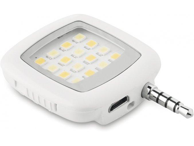 LED svítilna na selfie
