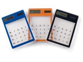 Průhledná kalkulačka