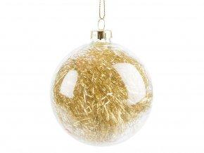 Vánoční koule - zlatá