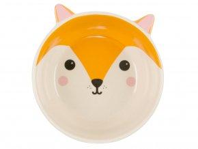 Miska ve tvaru lišky