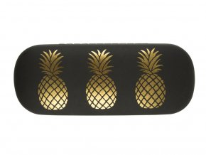 Pouzdro na brýle - Gold Pineapple