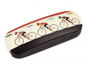 Pouzdro na brýle - cyklisté